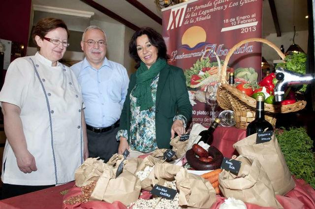 El restaurante Alborada inaugura las XI Jornadas Gastronómicas de legumbres y Guisos de la Abuela
