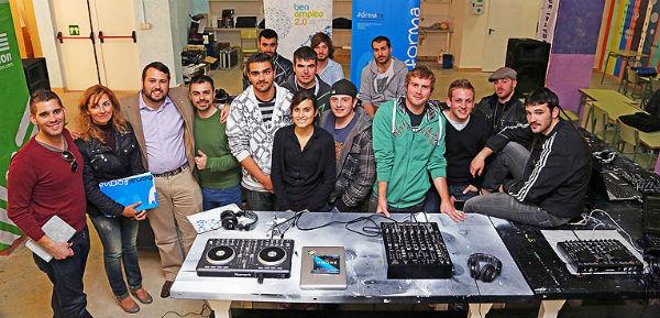 La Delegación de Empleo promueve un curso de 'Deejay-Videojockey'