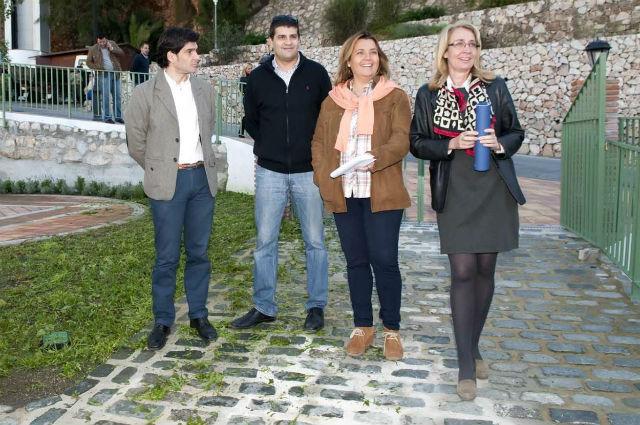 La Alcaldesa visita las obras de remodelación y mejora del Parque de los Limones
