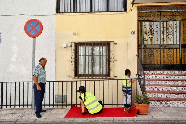 Servicios Operativos continúa con el Plan de Mejora de Barriadas de Benalmádena en Santo Domingo