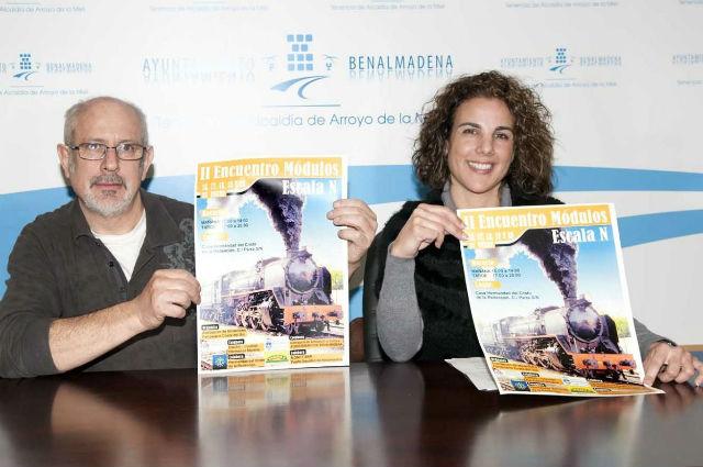 La Asociación de Modelismo Ferroviario de la Costa del Sol celebra su II Encuentro de Módulos en Benalmádena
