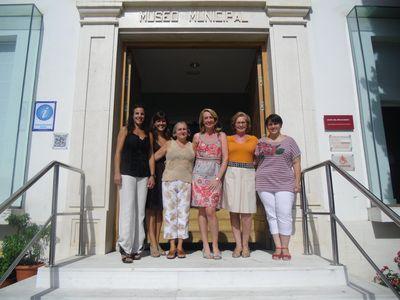 La Alcaldesa Visita el Museo de Arte Precolombino