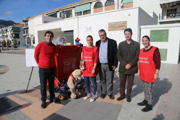 Benalmádena finaliza la campaña ¨Navidad Sostenible´ triplicando la recogida de juguetes de la edición anterior.