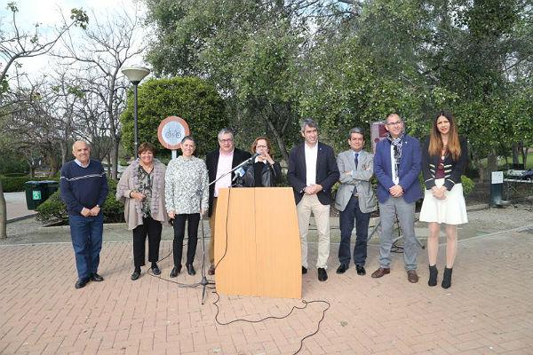 El Parque de la Paloma bautiza sus calles con el nombre de autoras célebres del Siglo XX