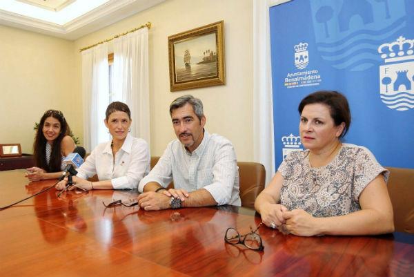El Alcalde Víctor Navas y la Concejala de Juventud reciben a los nuevos emprendedores del Vivero de Empresas del Edificio Innova
