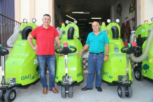 Servicios Operativos refuerza su parque móvil con la adquisición de cuatro nuevas máquinas de limpieza viaria.