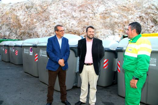 Benalmádena contará con más de 170 nuevos contenedores de basura