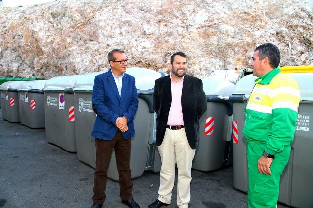 Se inicia la última fase de implantación de los contenedores de carga lateral en el municipio