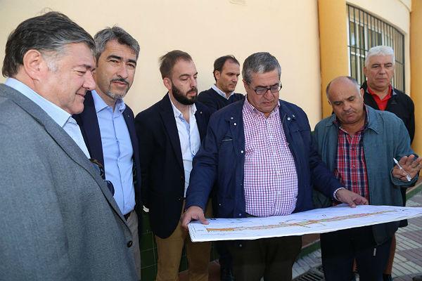 Comienzan las obras de remodelación del Paseo del Generalife con una inversión superior a los 500.000 euros