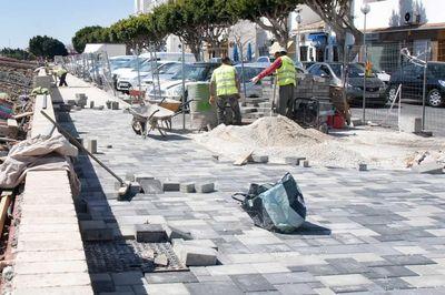 El Ayuntamiento Agiliza las Obras del Parque Antonio Andrade con el Fin de Concluir la Actuación en Otoño.