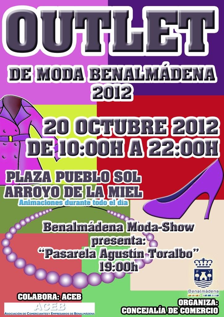 La explanada de Pueblosol acoge este sábado I Outlet Comercial de Moda Benalmádena 2012