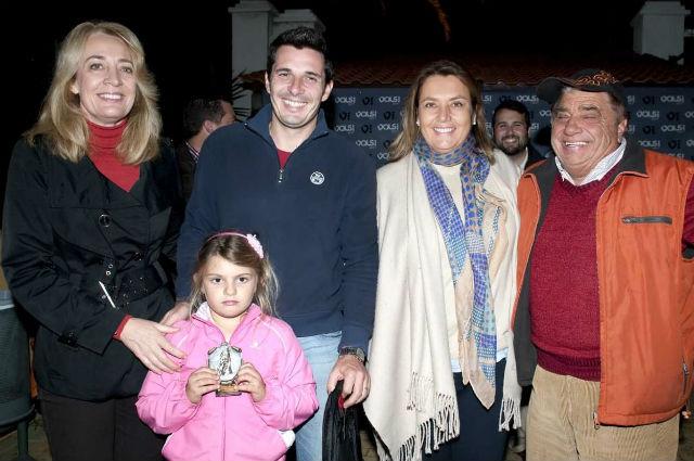 La Alcaldesa preside la entrega de premios del I Torneo de Pádel y Diversión en Familia