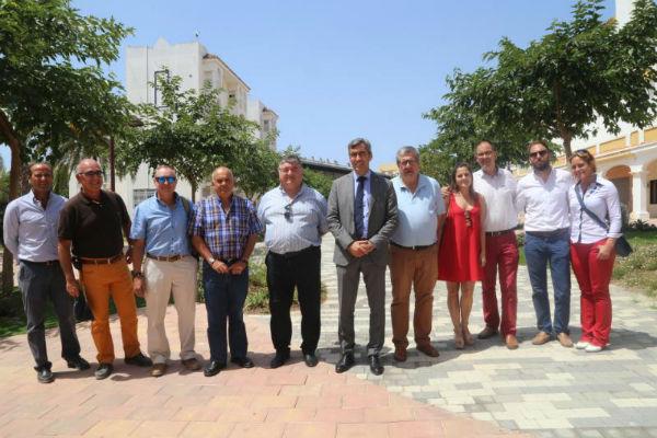 Finaliza la remodelación y embellecimiento del Paseo del Generalife en el Arroyo de la Miel