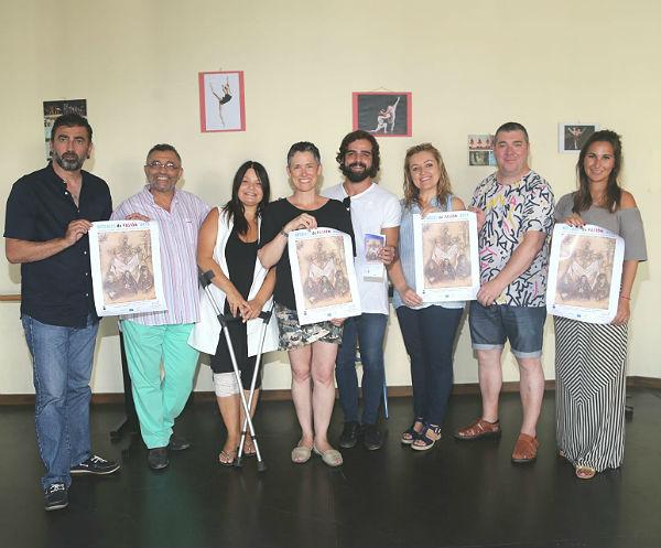 El Paso de Benalmádena se representará el 21 de julio en el Patio de Armas del Castillo de Gibralfaro