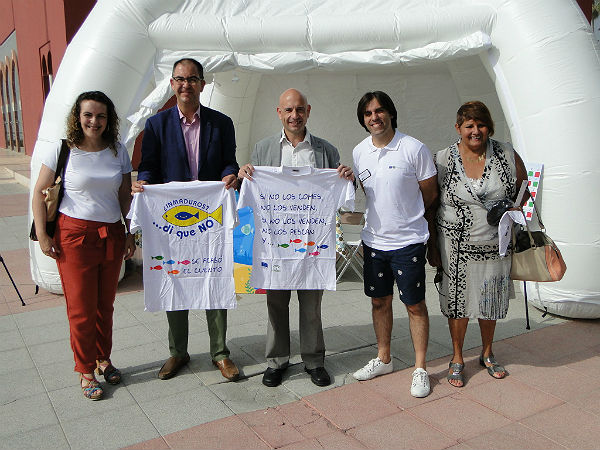 Benalmádena acoge el lanzamiento de la campaña informativa y de concienciación contra el consumo de pescado inmaduro de la Junta de Andalucía