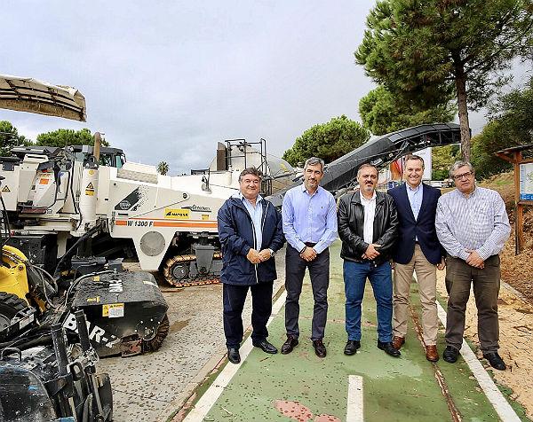 Arranca el Segundo Plan de Asfaltado con una inversión de 1,3 millones de euros y actuaciones en más de 40 calles