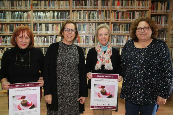 La Biblioteca Manuel Altolaguirre celebra San Valentín con la actividad 'Merienda con el Amor y la Poesía'