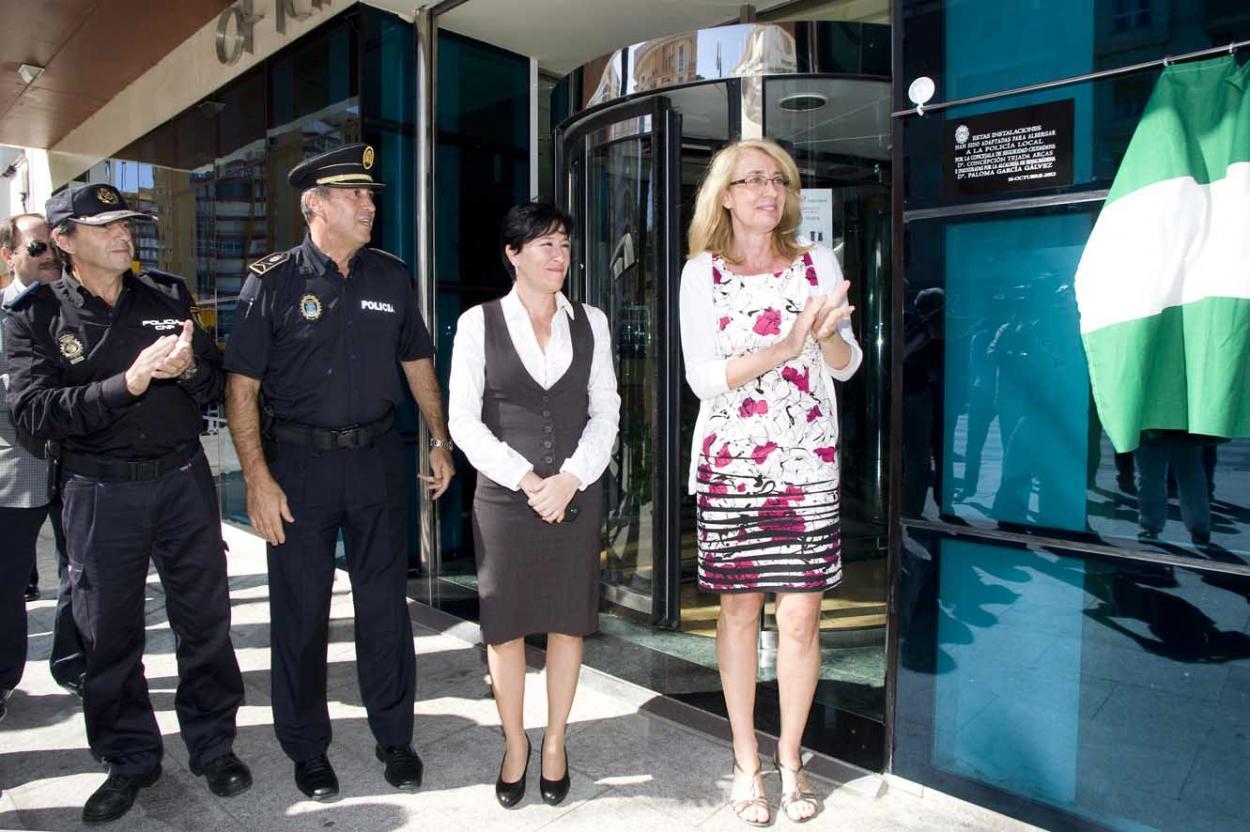 La Alcaldesa inagura la Unidad Territorial de la Policía Local en la costa, que permitirá dar una respuesta más rápida y una atención más cercana al ciudadano