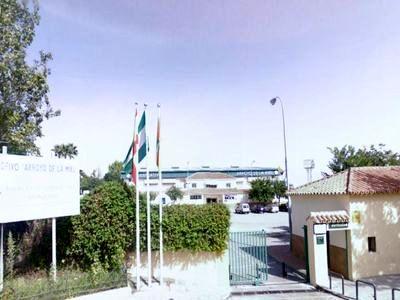 Obras de Acondicionamiento en el Polideportivo de Arroyo de la Miel.