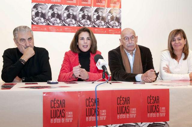 La Alcaldesa inaugurará esta tarde la muestra de 'César Lucas. El oficio de mirar' en el Centro de Exposiciones