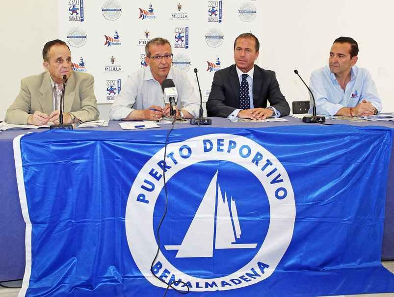 Benalmadena con la Semana Nautica de Melilla