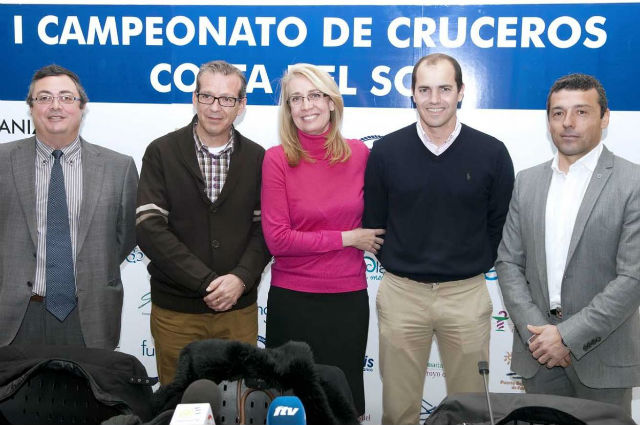 La Alcaldesa presenta el I Campeonato de Cruceros Costa del Sol 2013
