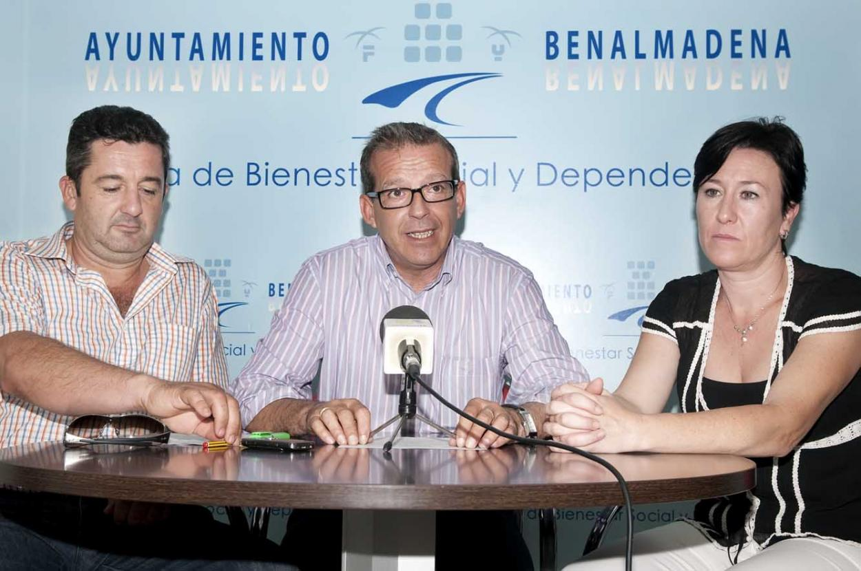 Francisco Salido trabaja en un acuerdo con promotoras para ofrecer a usuarios de Bienestar Social viviendas económicas