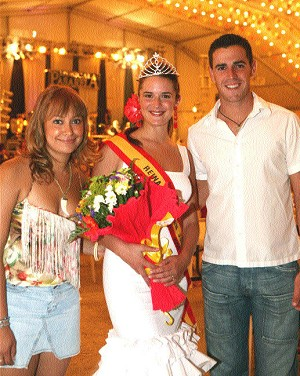 Ya tenemos Reina Oficial Feria San Juan 2006