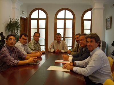 Encuentro Entre el Alcalde y El Foro Empresarial Siglo XXI.