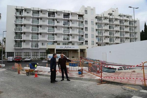 Servicios Operativos continúan su plan de mejoras por barriadas en Calle San Fermín