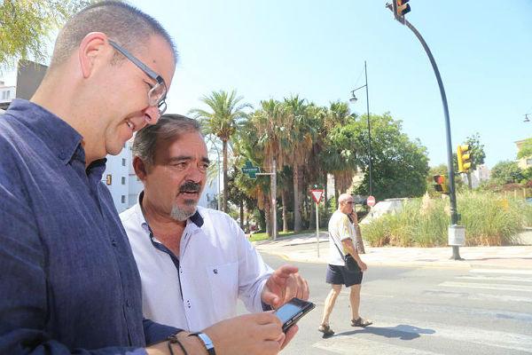 EL AYUNTAMIENTO INSTALA EN ARROYO DE LA MIEL TRES SEMÁFOROS ADAPTADOS PARA EL USO DE INVIDENTES