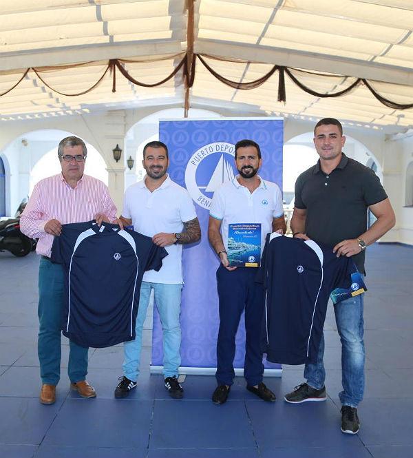 El Concejal de Deportes y el Gerente del Puerto reciben al equipo de Taekwondo de Benalmádena que participará en el Campeonato del Mundo