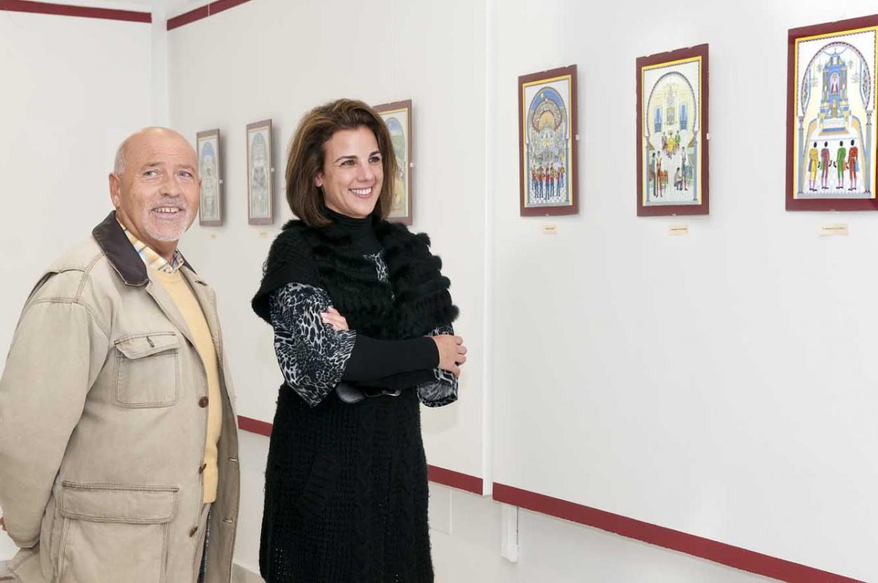 La Casa de la Cultura acoge la exposición de Julián Parada en homenaje al mundo taurino