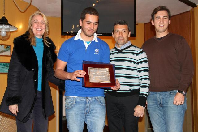 La regidora preside la entrega de premios de la I Copa de Andalucía de Vela Ligera en 2013