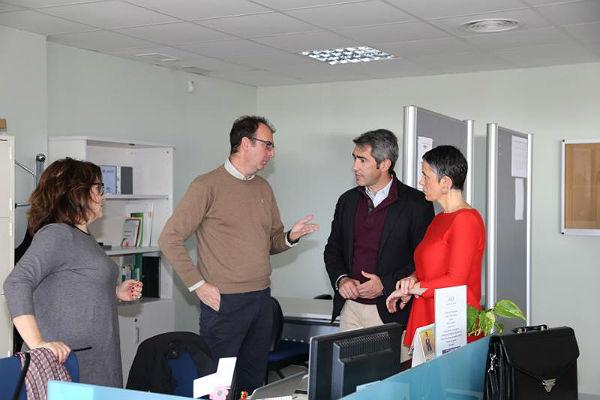 El Alcalde Víctor Navas y la Concejala Ana Scherman destacan la apuesta por el emprendimiento del equipo de gobierno