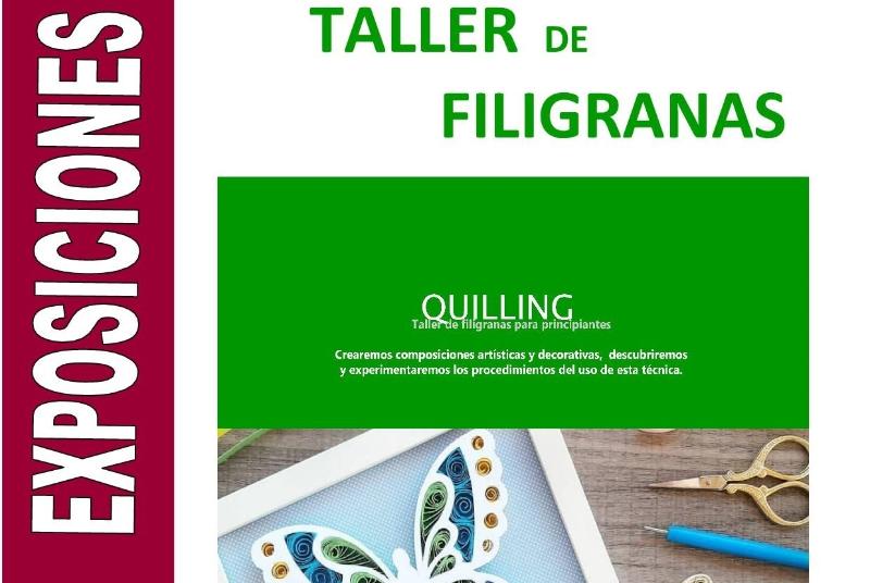 TALLER - QUILLING  FILIGRANAS EN PAPEL
