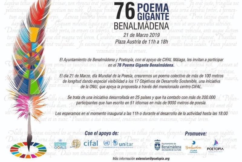76 POEMA GIGANTE DE BENALMÁDENA