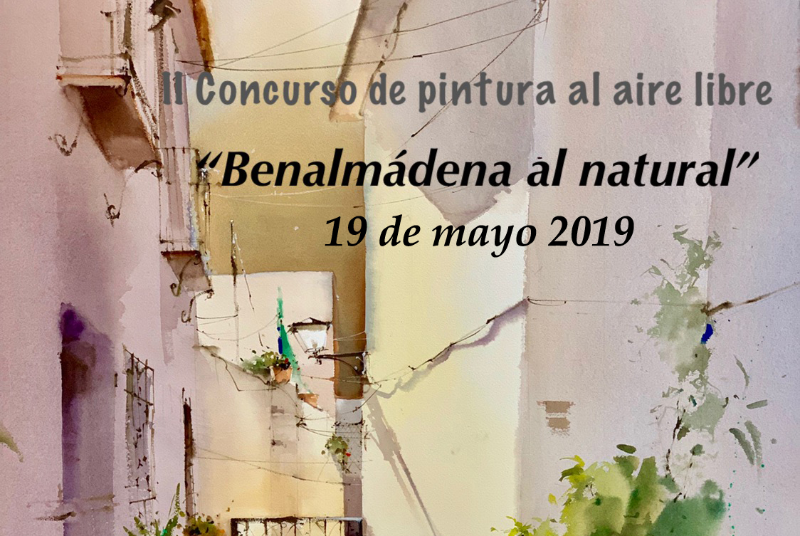 II CONCURSO DE PINTURA AL AIRE LIBRE 'BENALMÁDENA AL NATURAL'