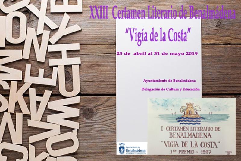 XXIII CERTAMEN LITERARIO 'VIGÍA DE LA COSTA'