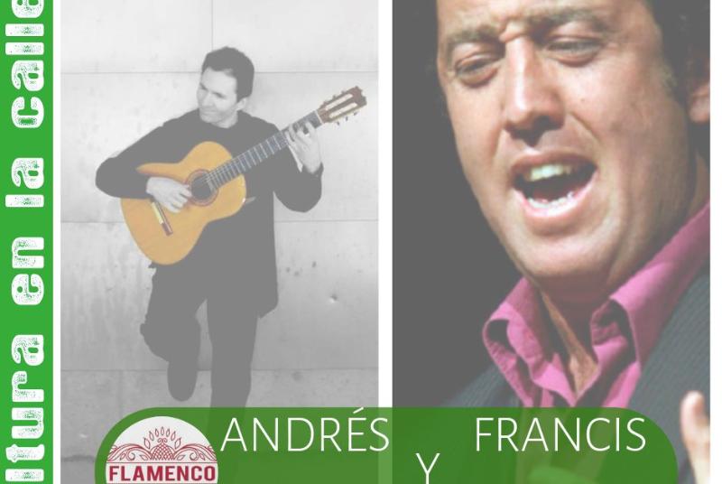 FLAMENCO: ANDRÉS CANSINO Y FRANCIS BONELA