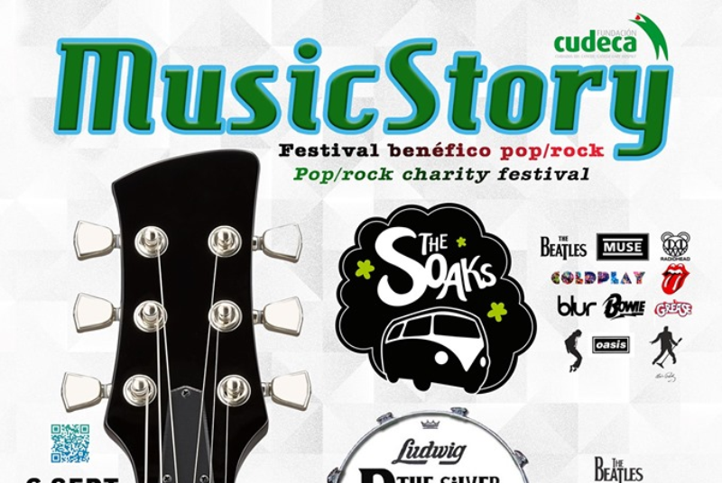 FESTIVAL TRIBUTO POP/ROCK 'MUSIC STORY' POR CUDECA