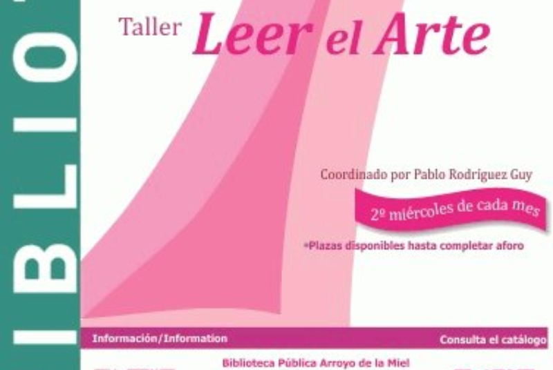 READ THE ART, COORDINATED BY PABLO RODRÍGUEZ GUY