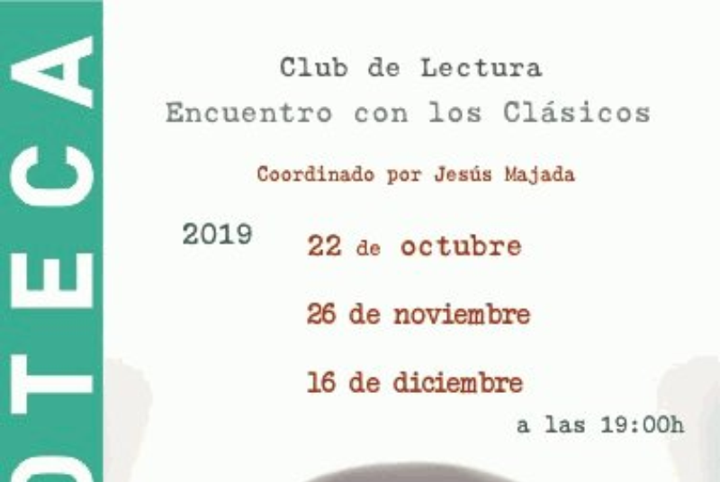 BOOK CLUB WITH THE CLASSICS, COORDINATED BY JESÚS MAJADA