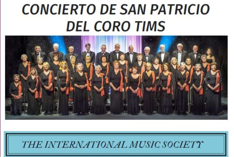 CORO TIMS. CONCIERTO DE SAN PATRICIO