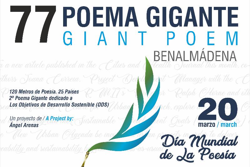 77 POEMA GIGANTE DE BENALMÁDENA 2020