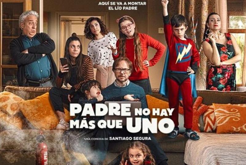 CINE: PADRE NO HAY MÁS QUE UNO