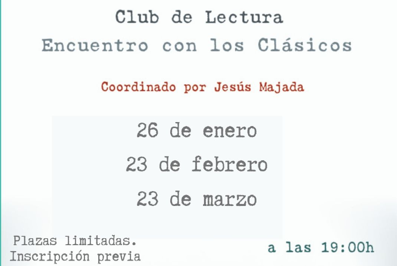 CLUB DE LECTURA ENCUENTRO CON LOS CLÁSICOS