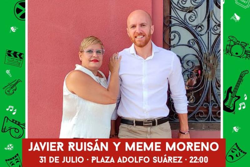 """CULTURA EN LA CALLE: JAVIER RUISÁN Y MEME MORENO. """"A Dúo"""""""