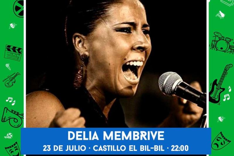 CULTURE ON THE STREET: DELIA MEMBRIVE