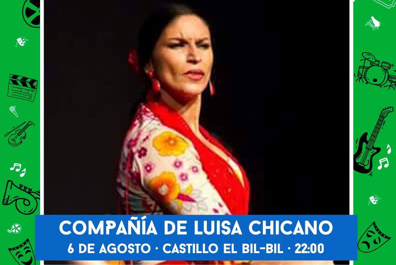 CULTURA EN LA CALLE: COMPAÑÍA DE LUISA CHICANO